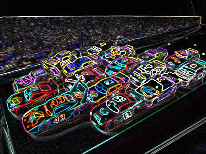 Mattel Pixar Diecast Cars Piston Cup Racers Autumn 2008