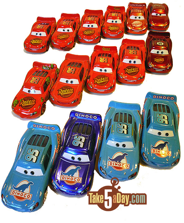 One Of Each McQueen  Alpha Order After The Plain Lightning McQueen