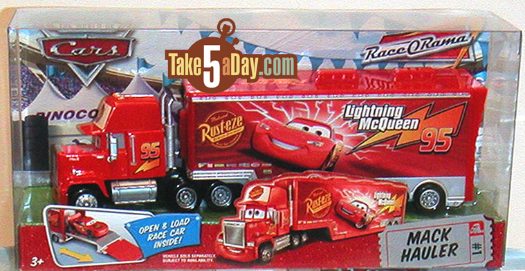 Mattel Disney Pixar Diecast Cars Hey Mack Can You