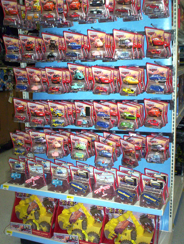 pixar cars. Mattel Pixar Diecast CARS: Wal