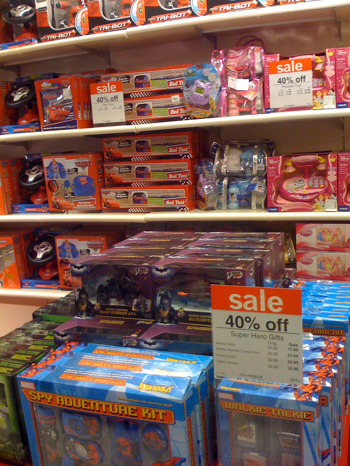 Toys At Sears : Mattel pixar diecast cars sears jc penney s toys