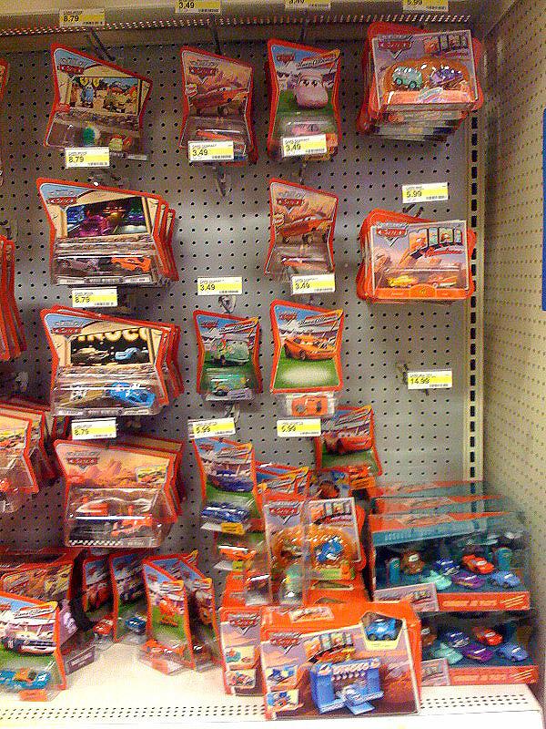 Target Cars Toys : Mattel pixar diecast cars stay on target