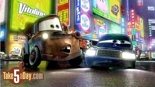 Mattel Disney Pixar Diecast CARS: Tokyo Mater CARS TOONS