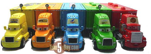 Mattel Disney Pixar Diecast CARS: The Art of Haulers Parking …