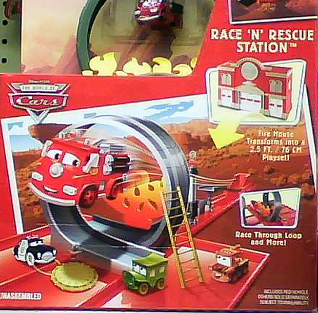 Mattel Disney Pixar Diecast Cars Mini Adventures Race N