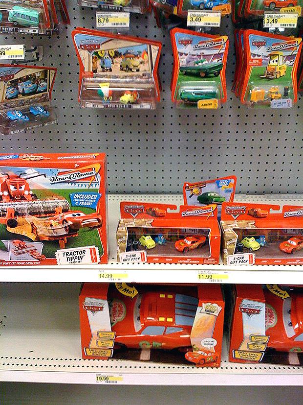 Target Cars Toys : Mattel disney pixar diecast cars target reset how can i