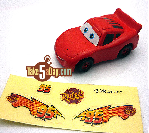 Lightning Mcqueen Sports Car Twin Bed Decals