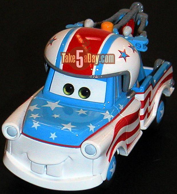 Mattel Disney Pixar Diecast CARS: Mater Tall Tales
