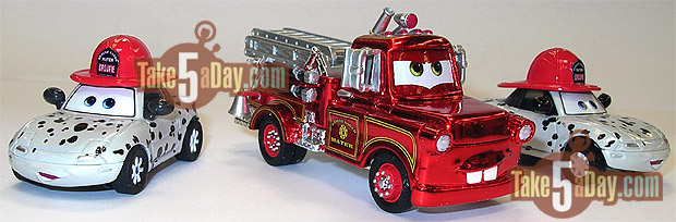 SDCC Rescue Squad Mater Red Ransburg Mater-twins