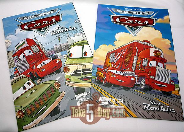 cars comic issue 2 - Disney Cars Books