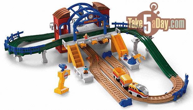 Take Five a Day » Blog Archive Mattel Fisher Price Disney Pixar CARS: GeoTrax Are GeoCool ...