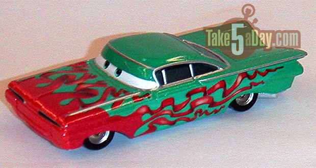 Mater Saves Christmas Holiday-Ramone