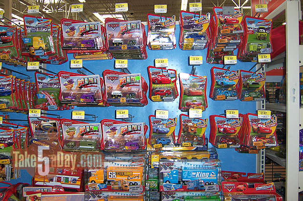 Toy Cars At Walmart : Mattel disney pixar diecast cars the switchover is