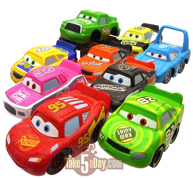 Mattel Disney Pixar Diecast Cars Mini S Still Racing