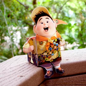 Baby Makes A-B-C: Cam as Russell from UP