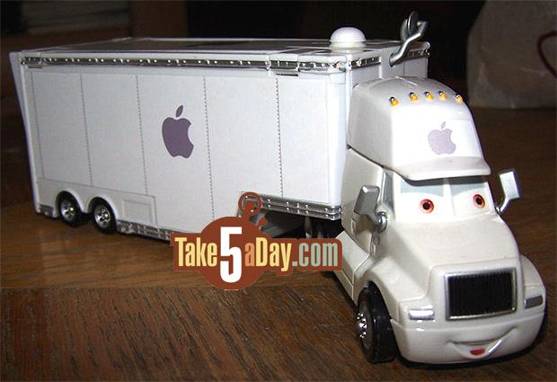Mattel Disney Pixar Diecast Cars The Nataniel B Apple