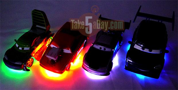 Mattel disney pixar cars diecast 2014 neon tuner cars series glow eyes sciox Choice Image