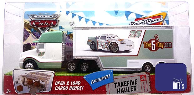 Mattel Disney Pixar Diecast Cars Hauler Pictorial Take