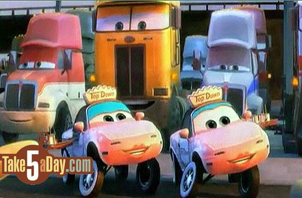 Mattel Disney Pixar Diecast CARS: Heavy Metal Mater Sneak