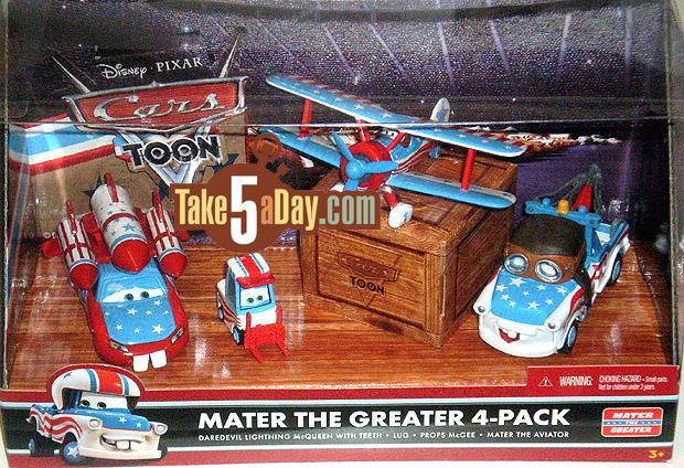 Mattel Disney Pixar Diecast CARS: Mater The Greater 4