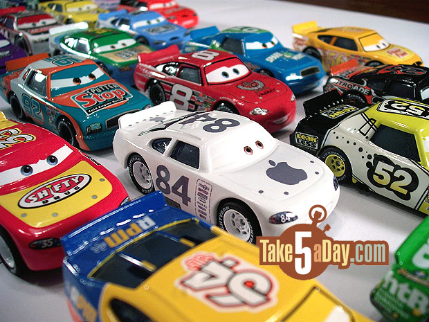 Mattel Disney Pixar Cars To Piston Cup Racers Visual