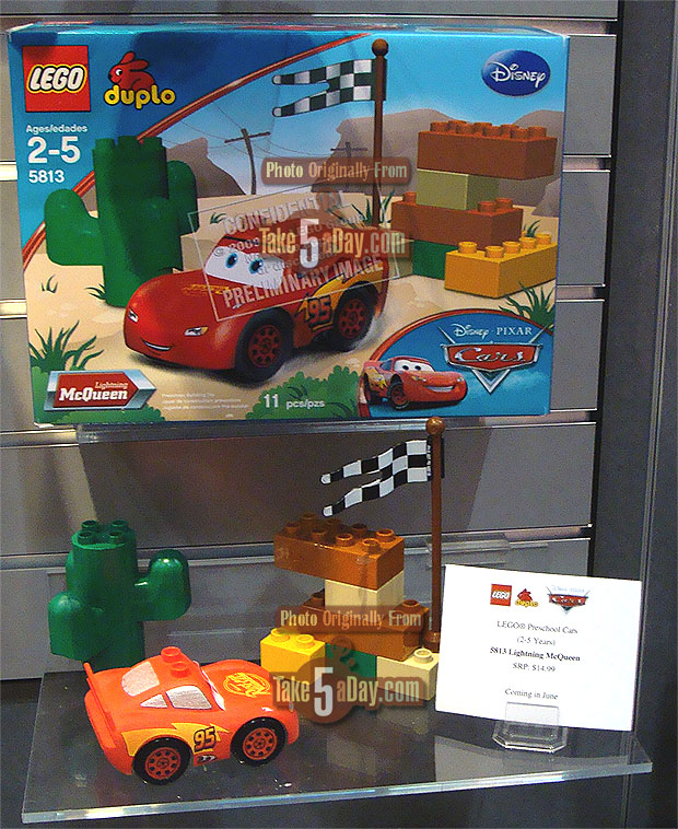 Disney Pixar CARS: Lego Duplo CARS Coming in June | Take Five a Day