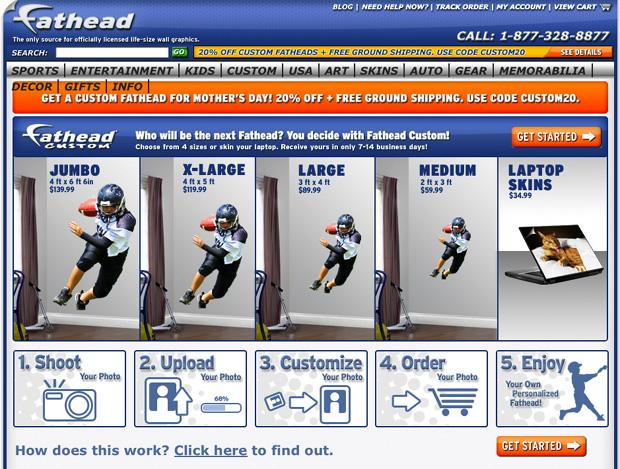 Fathead.com coupon code