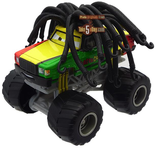 Disney Pixar Cars Mater Tall Tales Mater Wrestling Toon July