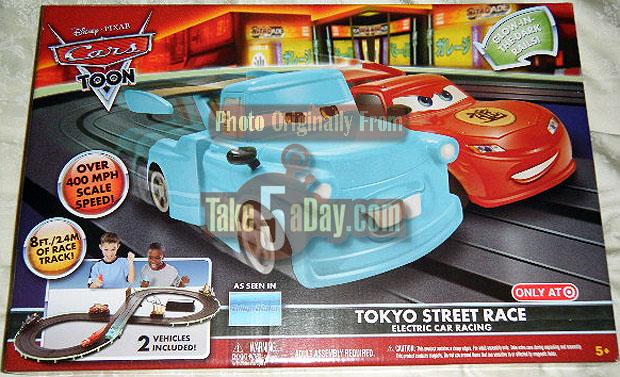 Disney Pixar Cars  Rc Tokyo Race Track
