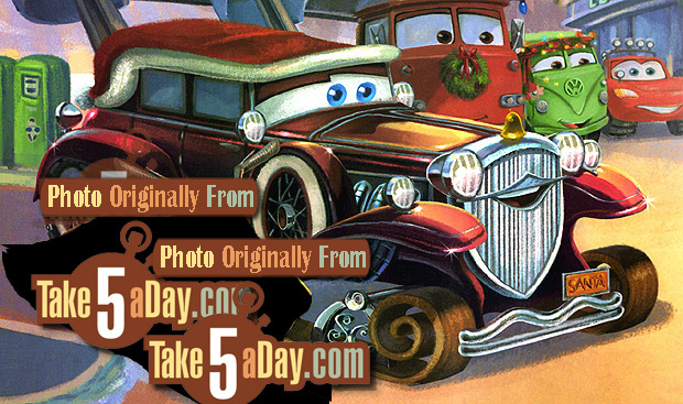 Mattel Disney Pixar Diecast CARS: Mater Saves Christmas Box Set ...