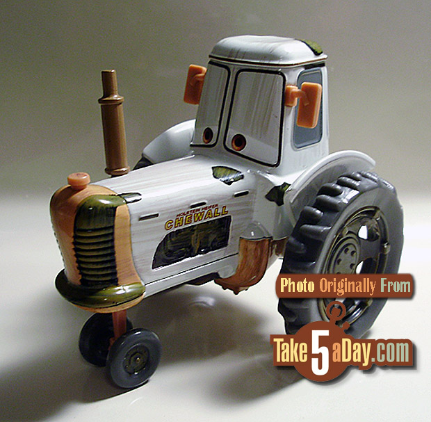 Tractor From Cars : Disney pixar cars new store quot white tractor take