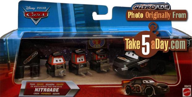 Mattel Disney Pixar Diecast Cars Team Haulers Are Back