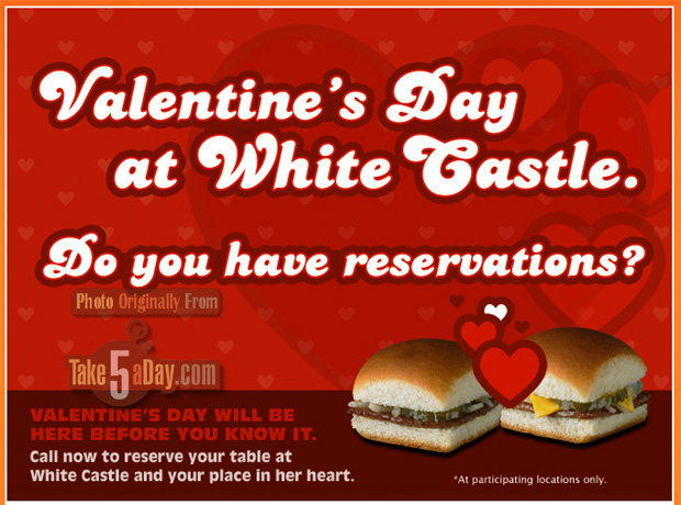 for the other love in your life: white castle valentine's day, Ideas