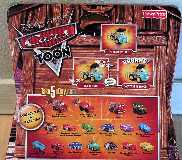 Disney Pixar Cars New El Materdor Shake N Go Cars2