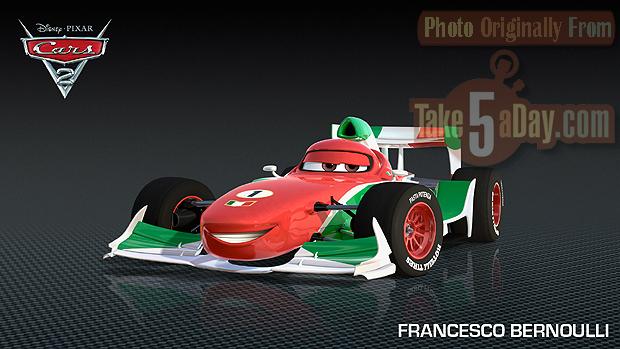 Cars  Turntable Francesco Bernoulli