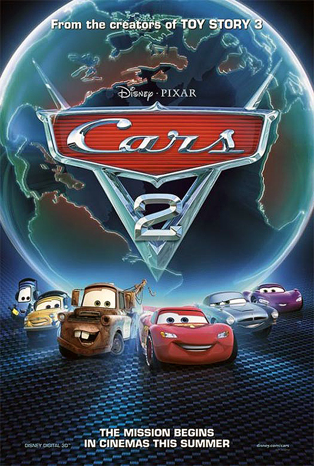 disney pixar cars 2 new trailer debuts on entertainment tonight new characters take five a day. Black Bedroom Furniture Sets. Home Design Ideas