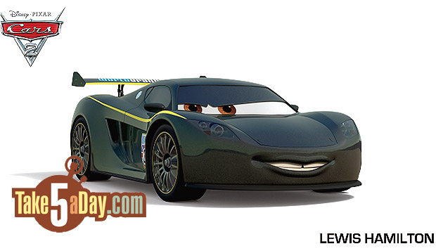 Take Five A Day 187 Blog Archive Disney Pixar Cars 2 Lewis