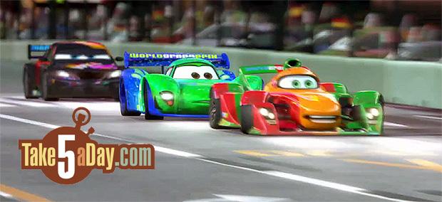 Cars 2 Shu Todoroki Crash