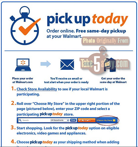 Walmart Announces Pick Up Today Option Will Text You Take - Invoices free online walmart online shopping store pickup