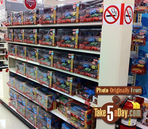 Target Cars Toys : Mattel disney pixar diecast cars target clearance waves