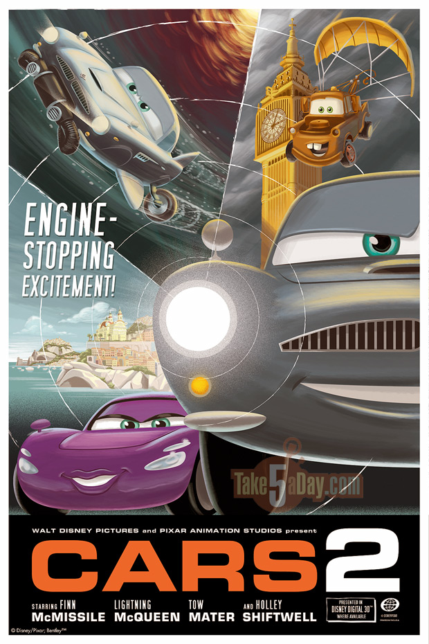 disney pixar cars 2 posters. Disney Pixar CARS 2: More