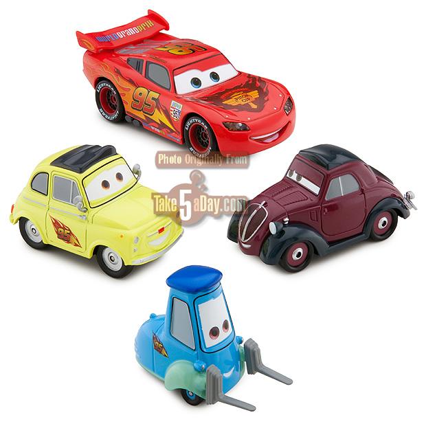 Cars 2 Lights Sounds Lightning: Disney Pixar CARS 2: Disney Store Box Sets