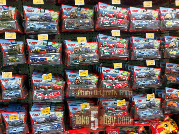 Toy Cars At Walmart : Mattel disney pixar cars diecast buying strategies