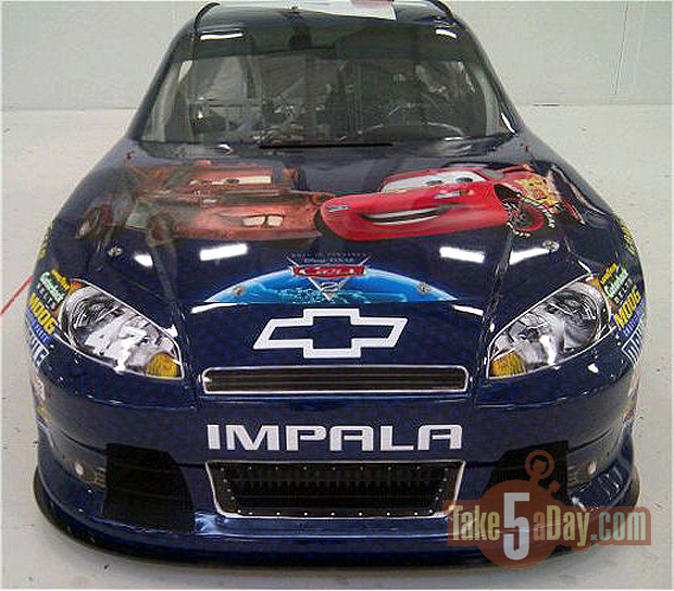 disney pixar cars 2 movie. Cars 2 Paint Scheme: Montoya