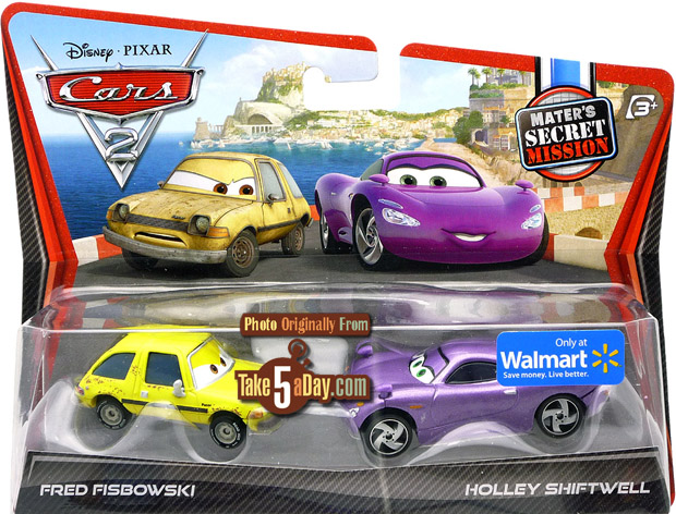 Mattel Disney Pixar Cars 2 Diecast Fisbowski Pacer That