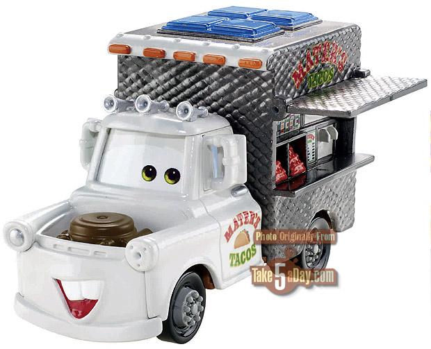 La voiture du film Cars 2 que vous aimeriez voir en miniature Mattel ! - Page 4 Mater-Taco-Truck-WM