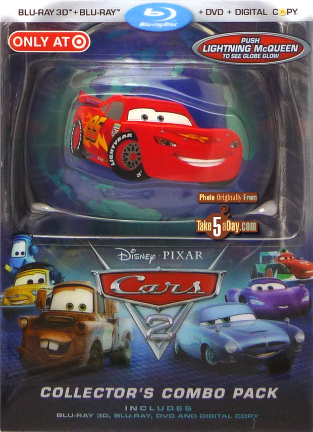Disney Pixar Cars 2 The Dvd Blu Ray More Choices Than