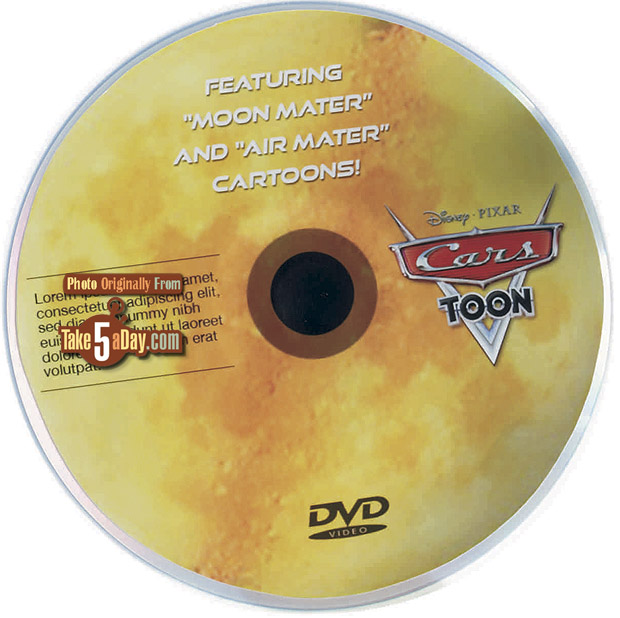 [Cars Toons] Take Flight Moon-Mater-DVD