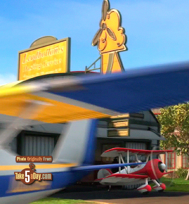 [Cars Toons] Take Flight Barney