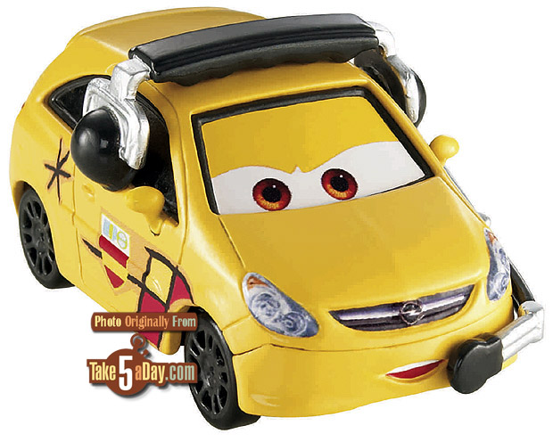[Cars 2] Max Schnell's Fan Alloy Hemberger Camino-crew-chief